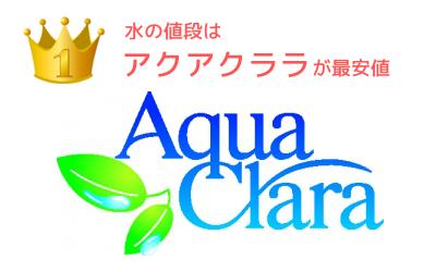 アクアクララが最安値